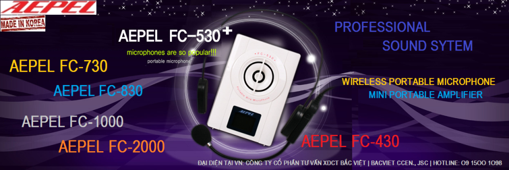 FC-2000 Wireless/USB/SD/Bluetooth/2Mic